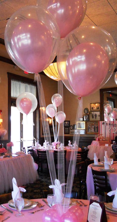 balloon centerpieces ideas favors ideas
