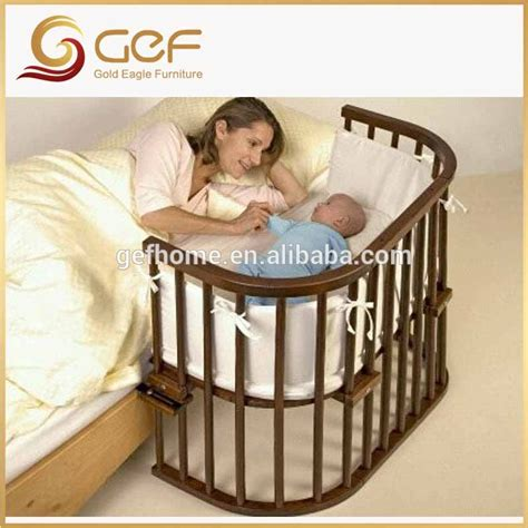 bed attached crib baby crib attached mother s bed new born baby cot gef bb