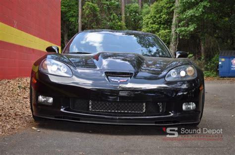 corvette sound system gainesville client gets corvette z06 audio upgrades