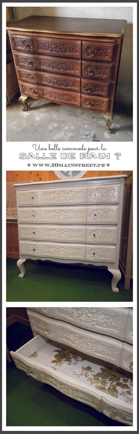 Commode Pour Salle De Bain by Une Commode Retap 233 E Style Gustavien Pour La Salle De Bain