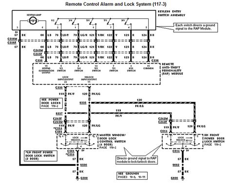 cluster wiring harness diagram 2002 ford explorer xlt