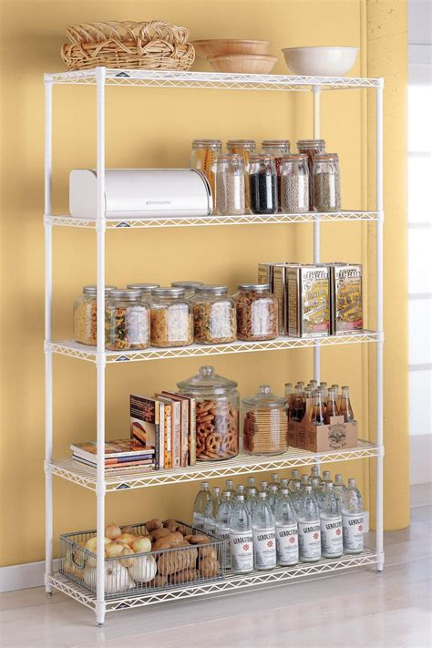 kitchen cabinet shelving systems 20 best pantry organizers hgtv