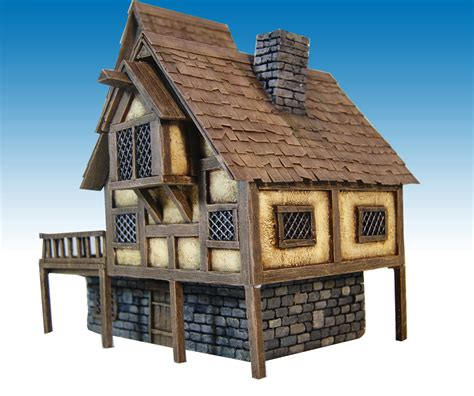 great medieval house plan miniatures pinterest miniature warfare medieval house nr 2 finished hobby