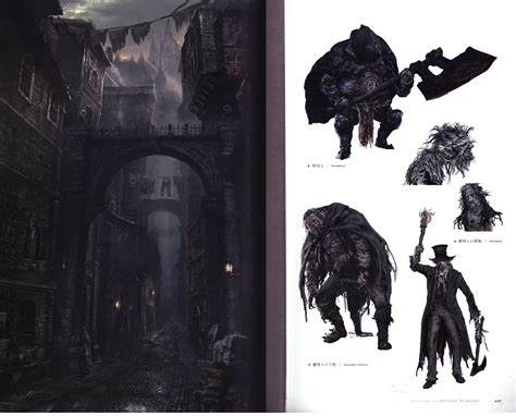 libro bloodborne official artworks bloodborne official design art works art book anime books