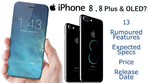 apple iphone 8 8 plus oled display iphone clean front wireless fast charging expensive