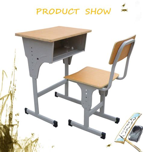 High Quality Plastic Student Desk Standard Size Of School Student Desk Dimensions