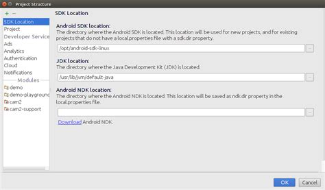 ndk android studio android ndk in android studio gt 1 4
