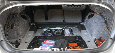 bmw e90 battery location my e90 project luggage compartment part 3 the whole