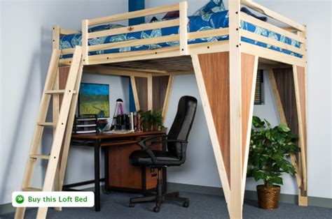 college bed lofts build wooden college loft bed plans free plans download
