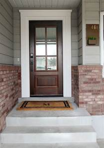 exterior door moulding 25 best ideas about door trims on craftsman