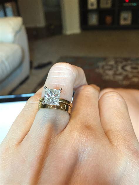 Show me you Cartier love ring as a wedding band   Weddingbee