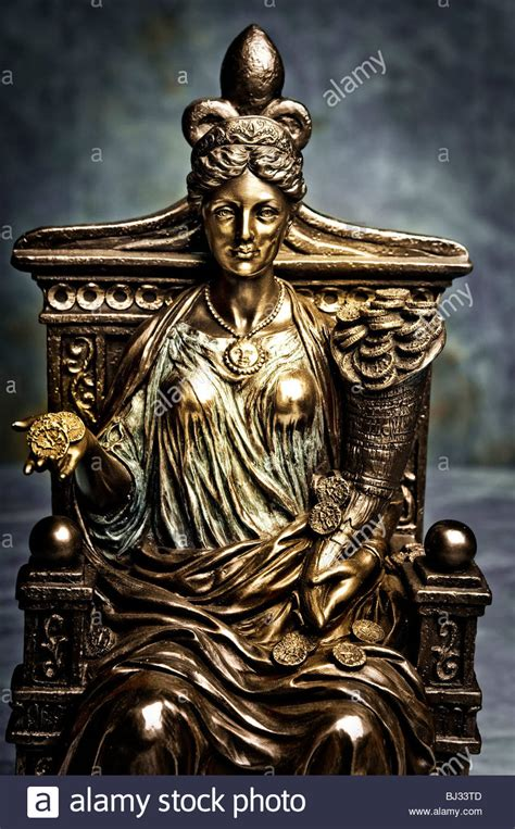 goddess fortuna statue of goddess fortune stock photo royalty free image