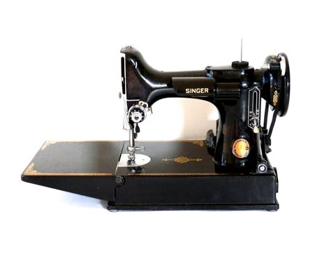 singer featherweight sewing machine model 221 1 portable