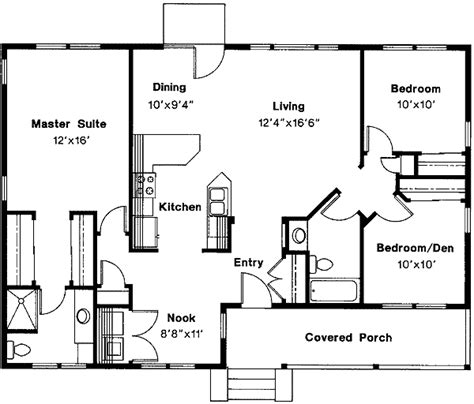 Free Flowing House Plan 72360da 1st Floor Master Suite Free House Plans One Bedroom