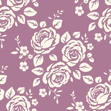pattern retro vector rose vector seamless pattern free vector download 19 775