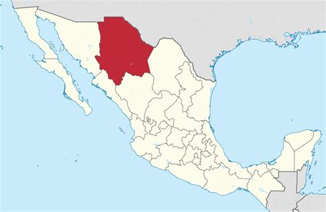 map of mexico chihuahua chihuahua map mexico mexico map