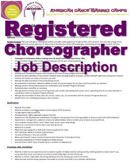 adtc thank you jobs dance c overnight 7 day week