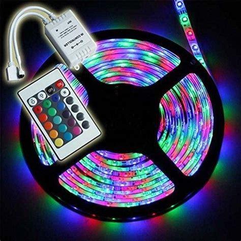 Led Strips Lighting комплект Rgb Led лента 5 метра 3528 диода с управление на цветове и захранване на топ цена