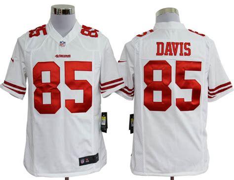 youth white vernon davis 85 jersey p 1338 youth san francisco 49ers 85 vernon davis jersey