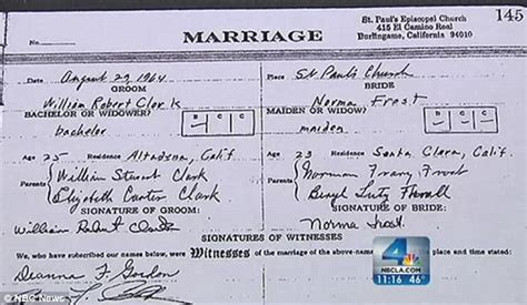 Dc Marriage License Records Marriage License Problems California Learns Marriage Wasn 191 T 48 Years