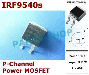 Polo Shirt Atasan Pria Smd 085 jual irf9540s f9540s smd irf9540 irf 9540s p channel power mosfet to 263 murah di lapak part