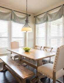 window treatments with valances top 25 best dining room windows ideas on