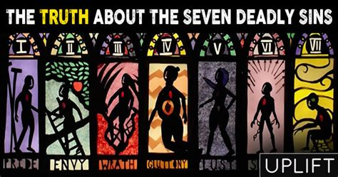 the sins of the the truth about the seven deadly sins