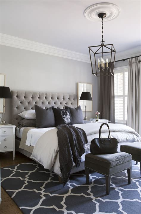 Lavender Master Bedroom Decorating Ideas by Master Bedroom In Greys And Lavender With Skull Cushion