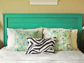 Diy Headboard Wood 6 Simple Diy Headboards Bedrooms Bedroom Decorating Ideas Hgtv