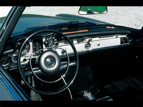 Mercedes 280sl Interior by 1963 1971 Mercedes W 113 Sl Class 280 Sl Interior