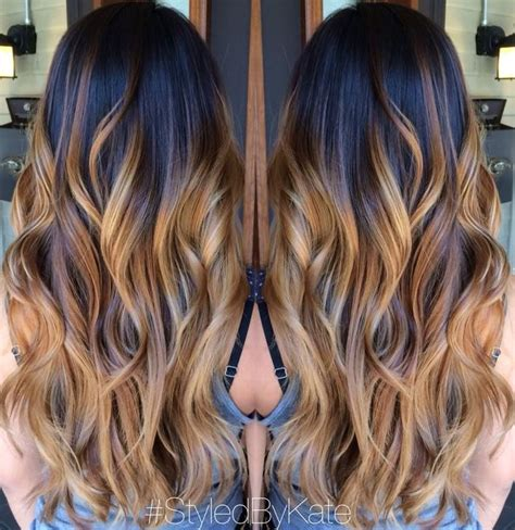 blonde to caramel brown 60 balayage hair color ideas with blonde brown caramel