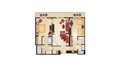 aulani grand villa floor plan dvc grand floridian resales point charts videos