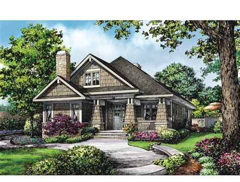 Bungalow Plans With Garage by Bungalow House Plans With Rear Entry Garage Cottage