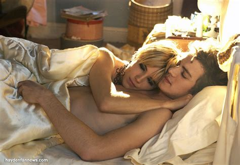 sexy couple in bed hayden christensen fan news news archives october 2008