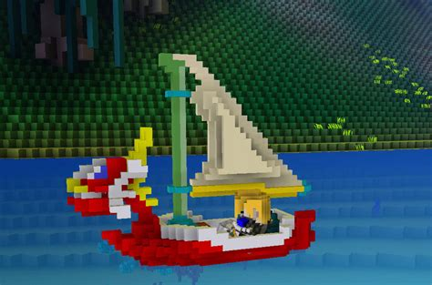 boat zelda planet cube world zelda boat the king of red lions cube