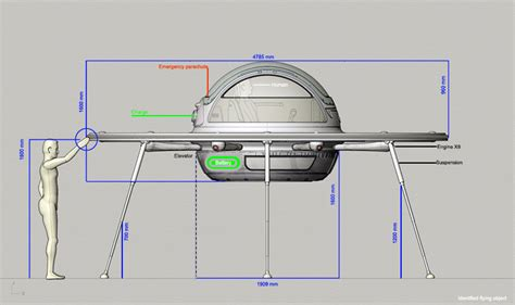 Designboom Jet Capsule | jet capsule identified flying object i f o is a two