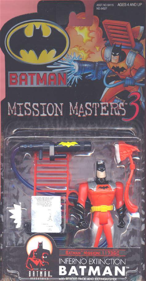 Batman Mission Masters 3 Assault the new batman adventures inferno extinction batman