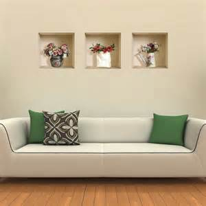 3d Wall Stickers For Bedrooms New 3 Pcs Diy Wall Sticker Stickers 3d Decal Decor Home