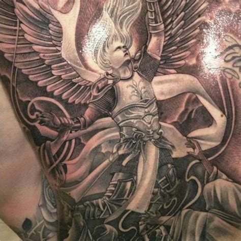 155 charming angel tattoos most popular designs of 2018