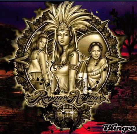 imagenes de guerreros aztecas wallpapers reynas aztecas fotograf 237 a 99594598 blingee com
