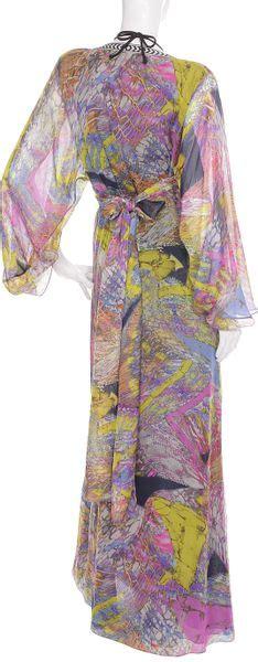 Kaftan Batik Alvia Matt Batik matthew williamson batik print mousseline kaftan in multicolor animal lyst