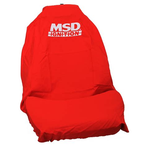 msd ignition throw seat cover