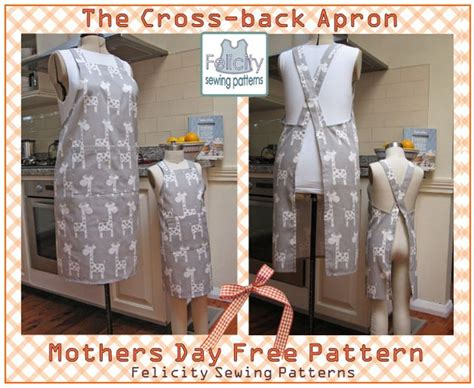 crossover back apron pattern welcome to the cross back apron free pattern download in