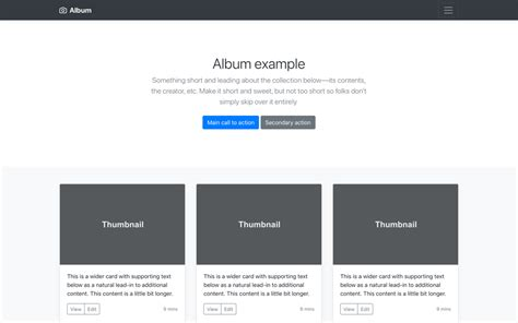 simple bootstrap layout exle exles 183 bootstrap