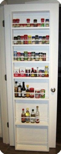 Inside Pantry Door Storage by 8 Best Images About Back Of Door Storage On