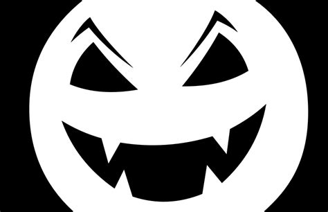 scary jack o lantern pattern printable clipart jack o lantern stencil