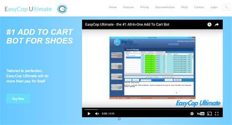 sneaker bot review easycop ultimate review blazing seo