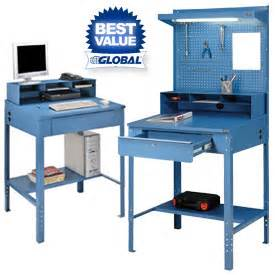 Warehouse Computer Desk Shop Receiving Desks At Global Industrial