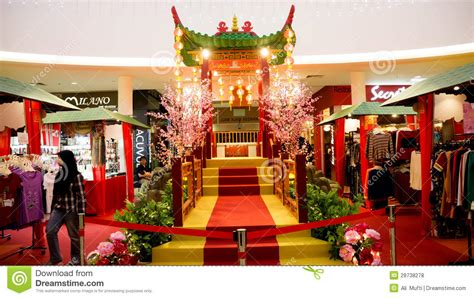 new year decoration shopping mall new year 2013 editorial stock photo image of