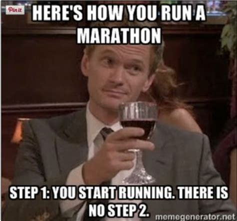 Running Marathon Meme - training adventures of a mother daughter running duo